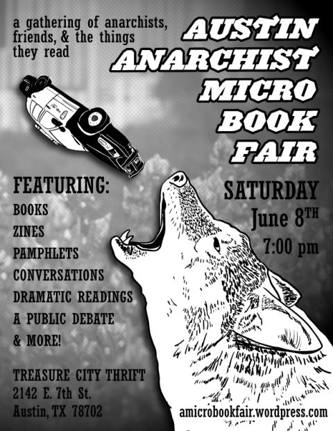 Austin Anarchist Micro Book Fair