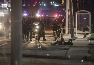 Ferguson, Missouri Protesters - August 17
